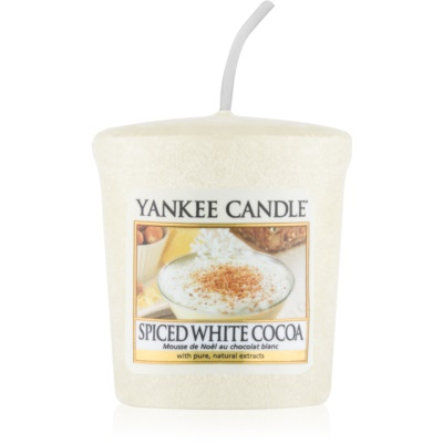 Yankee Candle Spiced White Cocoa votive candle