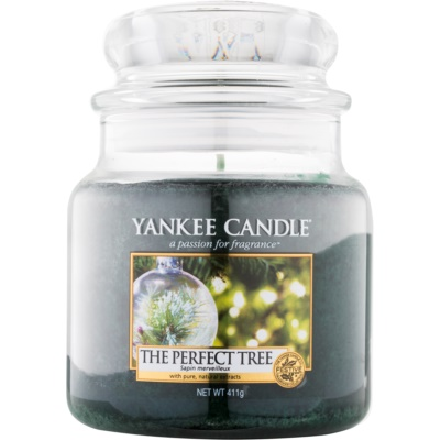 Yankee Candle The Perfect Tree scented candle Classic Medium