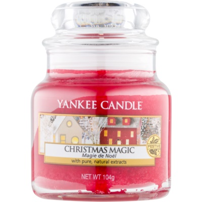 Yankee Candle Christmas Magic scented candle Classic Mini