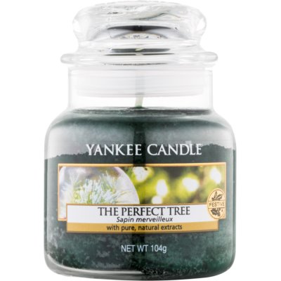 Yankee Candle The Perfect Tree doftljus Klassisk Mini