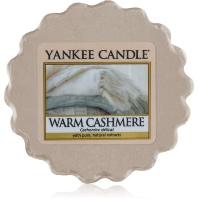 Yankee Candle Warm Cashmere duftwachs für aromalampe