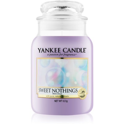 Yankee Candle Sweet Nothings doftljus Klassisk stor