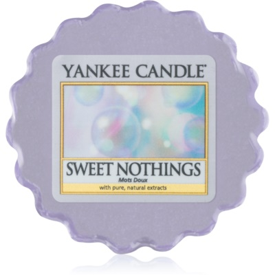 Yankee Candle Sweet Nothings cera per lampada aromatica