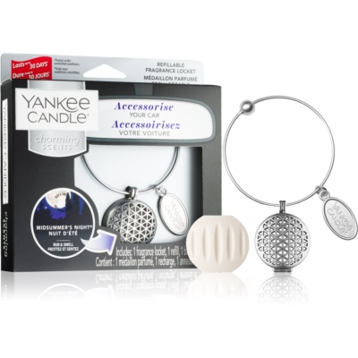 Yankee Candle Midsummer´s Night car air freshener pendant + one refill (Linear)