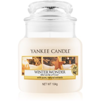 Yankee Candle Winter Wonder geurkaars Classic Mini