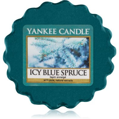 Yankee Candle Icy Blue Spruce vaxsmältning
