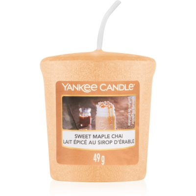Yankee Candle Sweet Maple Chai vela votiva