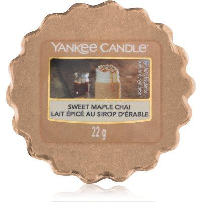 Yankee Candle Sweet Maple Chai wax melt
