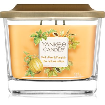 Yankee Candle Elevation Tonka Bean & Pumpkin scented candle