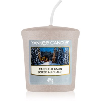 Yankee Candle Candlelit Cabin votive candle