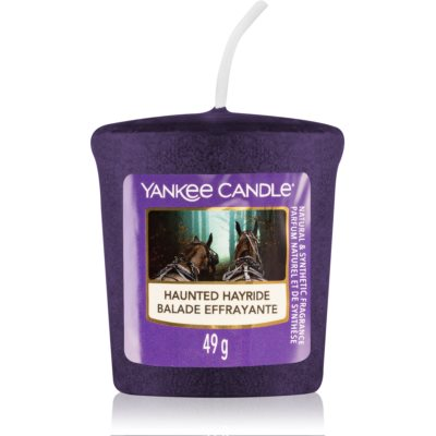 Yankee Candle Haunted Hayride votive candle