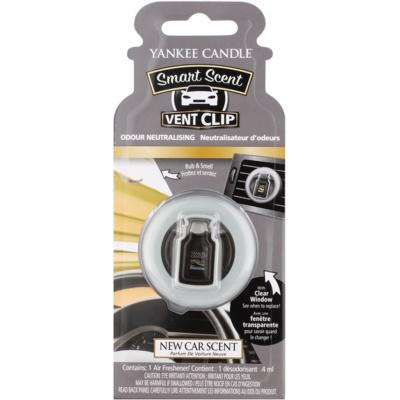 Yankee Candle New Car Scent ambientador de coche para ventilación clip
