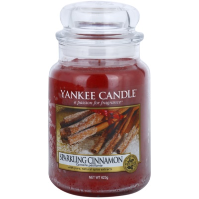 Yankee Candle Sparkling Cinnamon scented candle Classic Large