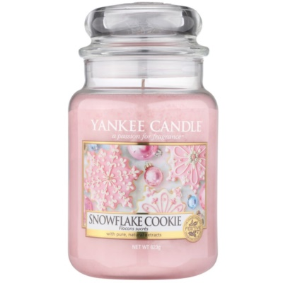 Yankee Candle Snowflake Cookie duftkerze  Classic groß