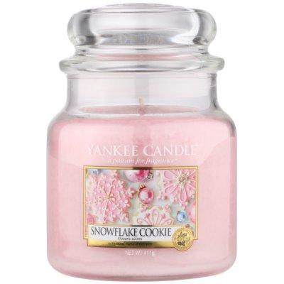 Yankee Candle Snowflake Cookie αρωματικό κερί Κλασικό μέτριο