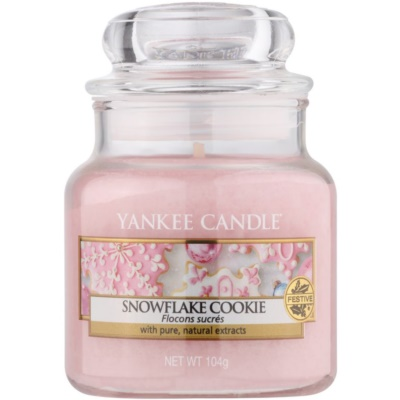 Yankee Candle Snowflake Cookie scented candle Classic Mini