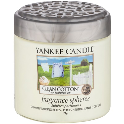 Yankee Candle Clean Cotton pérolas aromáticas