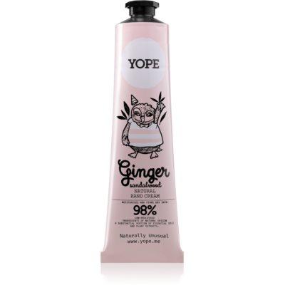 YopeGinger & Sandalwood