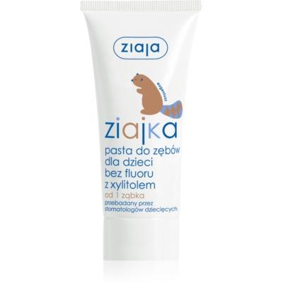 Ziaja Ziajka żel do zębów dla dzieci bez fluoru
